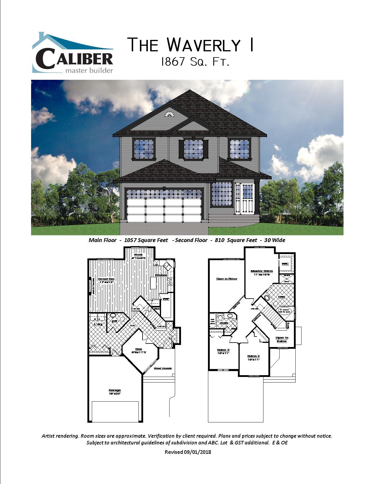 Custom Homes Caliber Master Builder